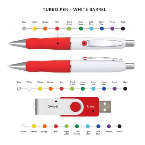 106944 23 white barrel